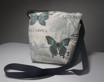 Butterfly Crossbody Fabric bag