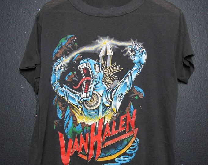 Van Halen Kicks Ass 1986 vintage Tshirt