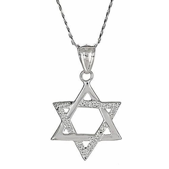 Large 925 sterling silver magen david jewish star of david te gusta este artculo aloadofball Image collections