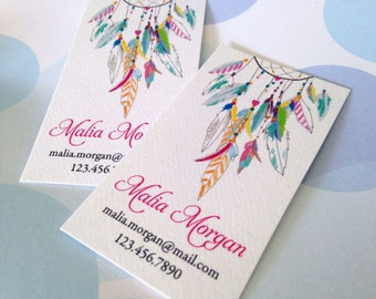 Custom Business Cards, Printed Business Cards - Set of 50