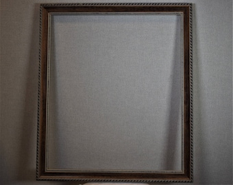 19x23 (Approx Size) Frame Wood with Optional Custom Matting