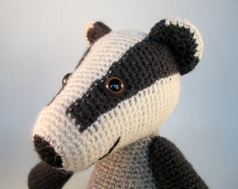 Blackberry the Badger Amigurumi Pattern PDF - Crochet Pattern