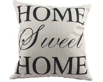 """Cushion 45X45cm """"HOME Sweet HOME"""""""