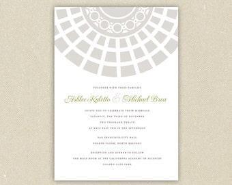 San francisco invite etsy wedding invitations classic architecture san francisco city hall wedding collection stopboris Images