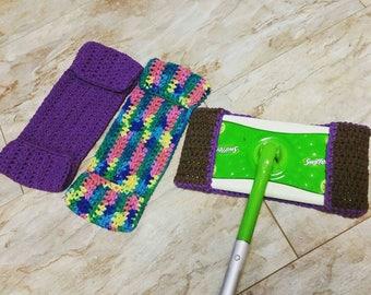 MTO / Reusable Swiffer Cover / Crochet Swiffer Pad / Washable Swiffer Cover / Reusable Swiffer Pad / Crochet Swiffer Cover / Swiffer Cover
