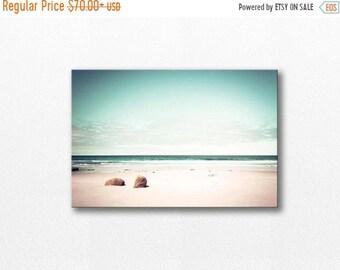 ON SALE nautical decor canvas art beach ocean photography canvas print 12x12 24x36 fine art photography coastal canvas wrap gallery wrap pas