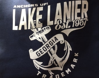 Anchors Up Lake Lanier