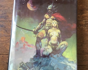 1973 Master Mind of Mars and A Fighting Man of Mars, Hard Cover John Carter Barsoom Book. Edgar Rice Burroughs. FN/VF. Nelson Doubleday Inc.