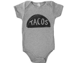 Taco Baby Bodysuit, cinco de mayo shirt, baby clothes, baby shower gift, taco shirt baby, taco funny onesie boy baby girl gift, onesie cute