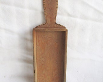 Vintage Wooden Feed Seed Scoop Shovel Vintage Utility Home and Living Utensil Wall Hanging Display Shovel Vintage Decor Vintage Wood Decor