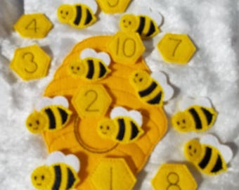 Beehive Counting Fun