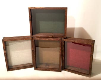 11x14 Shadow Box Frame, EXTRA Deep, 5 inches, Rustic Shadowbox, Display Case | Artisan Rustic Collection