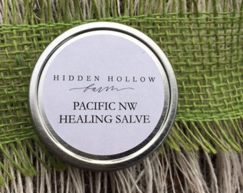 Pacific NW healing salve