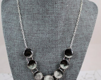 Accurate Phases of the Moon Necklace