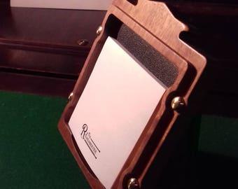 Steampunk Sticky Note Holder ('The Rememberfier')
