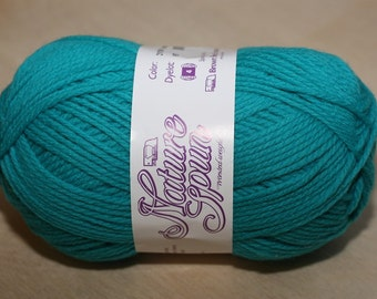 Nature Spun Worsted Weight, color 2N78W, lot 057   Turquoise Wonder
