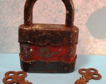 Vintage Lock with Key