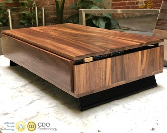 Volta V Handmade Wooden Case - Sustainable USA grain-matched lumber; highly customizable - Designer Series
