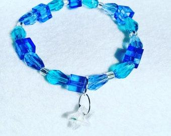 Wish Upon A Star Blue Bracelet