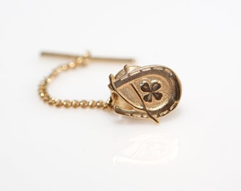 Lucky Tie Tack and Lapel Pin - Vintage