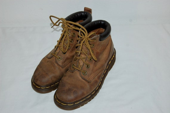 Brown Boots US in Leather Martens Made Women 5 3 Airwair England UK Dr q0AwWRxzgS