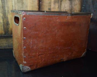 1930's Vintage File Case