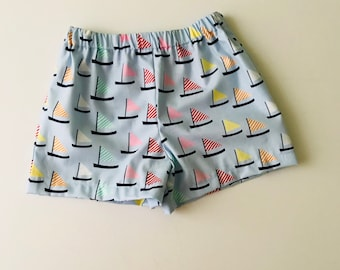 Baby Sailboat Shorts - size 12 months