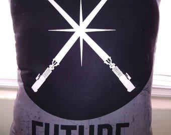 Future Jedi Pillow