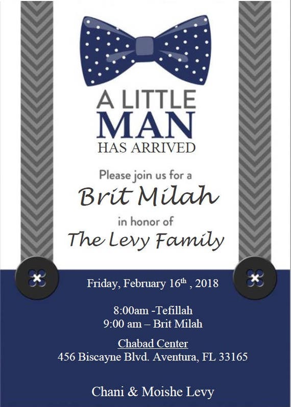 Brit Milah Little Man