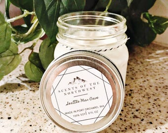 Candles Handmade - Handmade Candles - Handmade Soy Candles - Soy Wax Candles - Mandle -  Seattle Washington - Seattle - Man Scent Candles