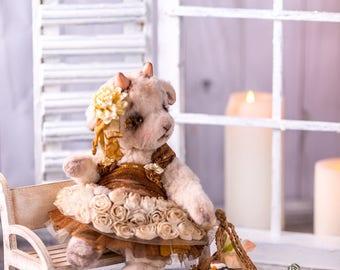 Teddy Goat  OOAK Margot