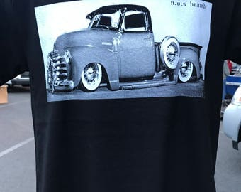 1949 Chevrolet Pickup tuck  lowrider Chevy Trokita Silk ScreenT-Shirt