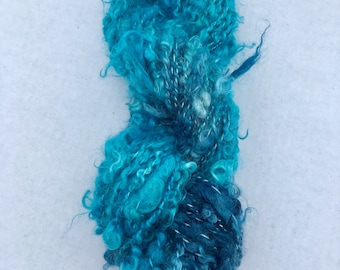 Monster in my Cookies  - Mohair Art Yarn, FREE US shipping