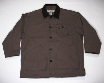 Vintage 90s GAP Olive Green D-Pocket Coat