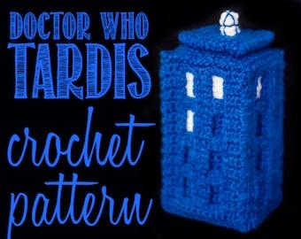 TARDIS (Doctor Who) Amigurumi Crochet Pattern