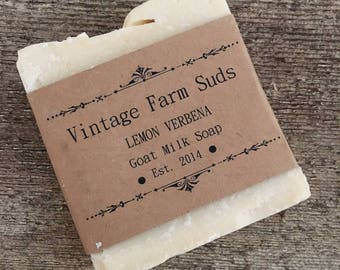 Lemon Verbena Goat Milk Soap