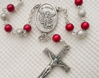Cro Car Rosary St Michael the Archangel