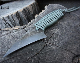 """Handcrafted FOF """"Fiend"""", survival, hunting or tactical knife"""