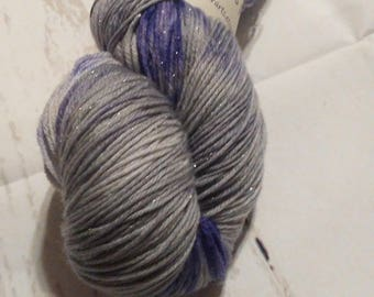 Hand Dyed Sock Yarn-Shimmer-Danerys