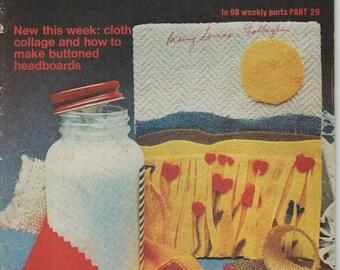 ON SALE ON Sale - Golden Hands Encyclopaedia of Crafts Part 29 Vintage 1970s