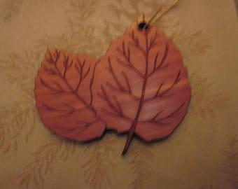 Aspen Leaves Ornament