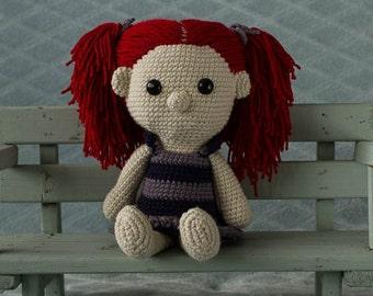 Handmade crochet cuddle toy Doll