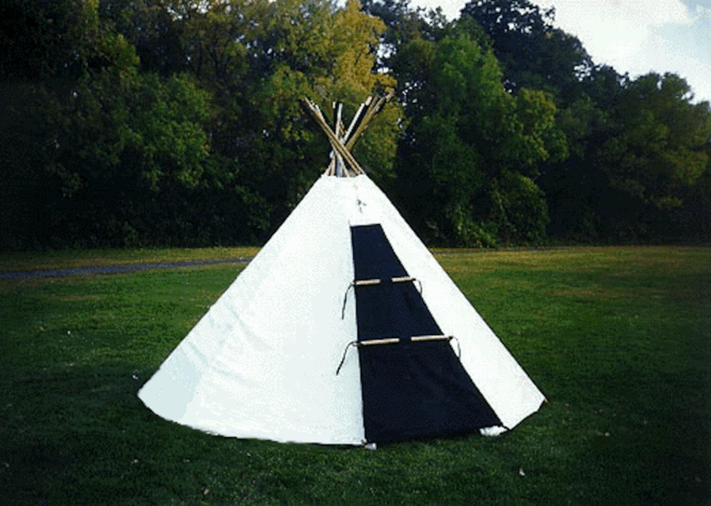 ?zoom & Sami Lavvu Tent Ten feet diameter Similar to a Tipi but