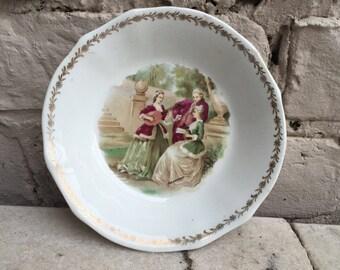 Vintage Fragonard Arabia Finland decorative plate