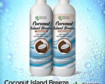 Coconut Island Breeze Natural & Organic Combo Pack