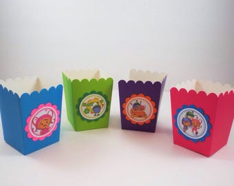 10 Team Umizoomi Birthday Bags, Team Umizoomi  Popcorn Bags, Team Umizoomi Party Bags, Candy bags, Snacks Bags, Goodie Bags, Party Favor Bag
