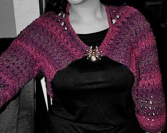 Victorian Hand-Knit Shrug