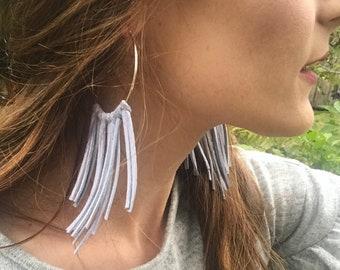 Dreamcatcher Hoop Earrings - Hoop Earrings