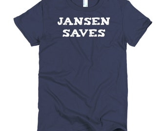 Jansen Saves ~ Short sleeve women's t-shirt