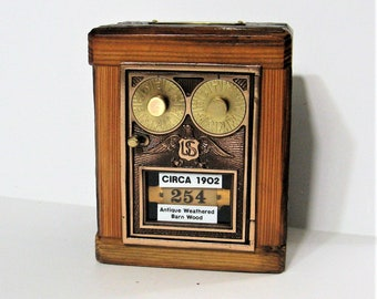 Post Office Box 1902 Dual Dial Door Barnwood Bank Safe